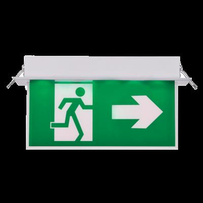 Jobbra mutató kijáratjelző