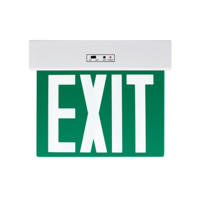 Kijáratjelző lámpa zöld