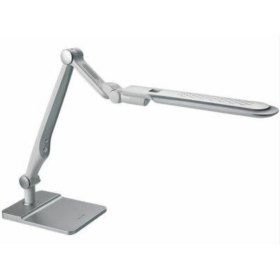 LED asztali lámpa lakk fehér 10W érintős-fényerő és színhőmérséklet szabályozható