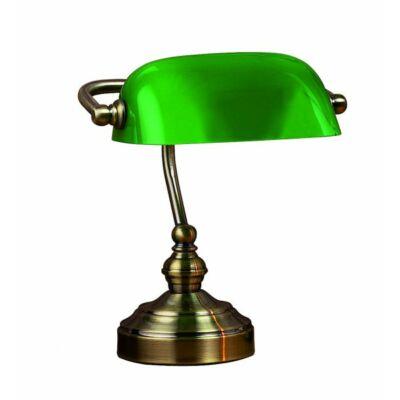 MARKSLÖJD BANKERS Asztali zöld lámpa 1L