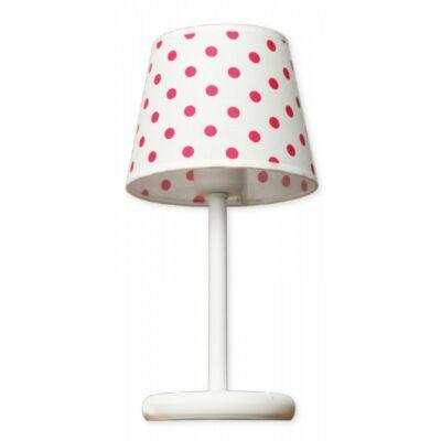LAMPEX asztali lámpa Star czerwona