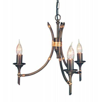 ELSTEAD Bamboo 3Lt bronz (sötét árnyalat) csillár
