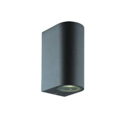 Viokef 2L fali lámpa sötét kerek H:150 Tilos