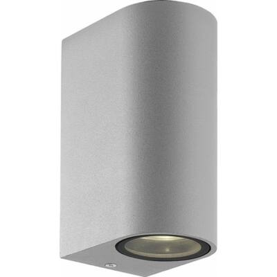 Viokef 2L fali Lámpa silver ROUND H:150 TILOS