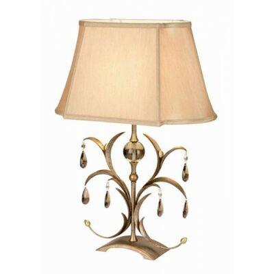 ELSTEAD Lily  antik sötétbronz asztali lámpa komód lámpa