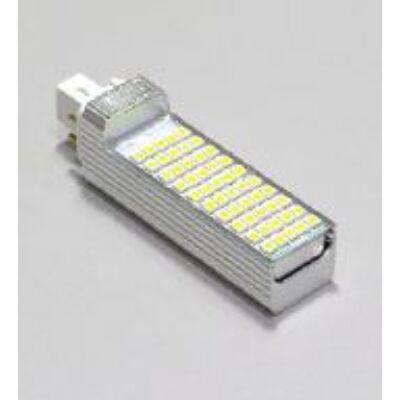 LED G24 fényforrás - 8W, 4000K középfehér, búra nélkül