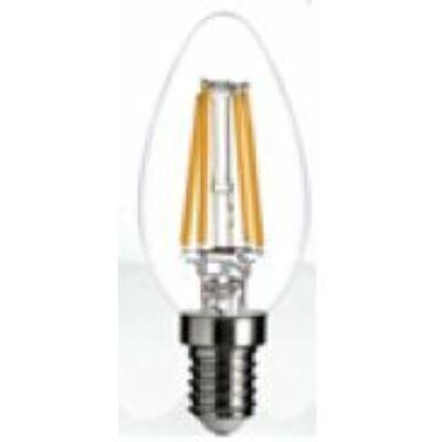 E14 LED gyertyaégő, 4 W, melegfehér, 350° vetítési szög