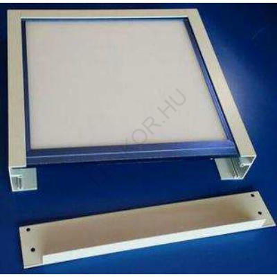LED panel falon kívüli beépítőkeret 30x30