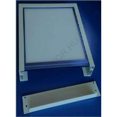 LED panel falon kívüli beépítőkeret 30x60