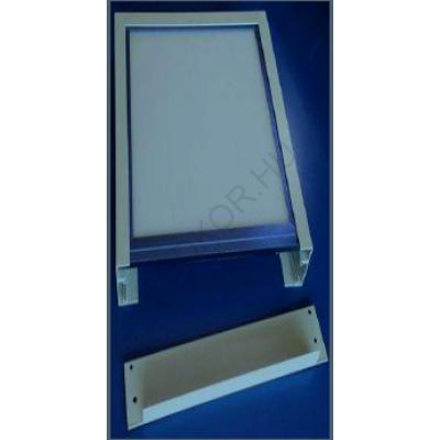 LED panel falon kívüli beépítőkeret 30x120