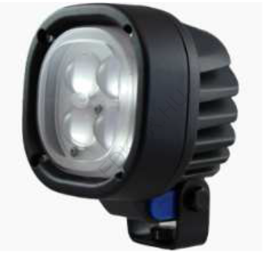 LED Biztonsági nehézgép lámpa - kék, narrow