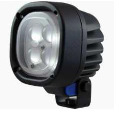 LED Biztonsági nehézgép lámpa - piros, narrow
