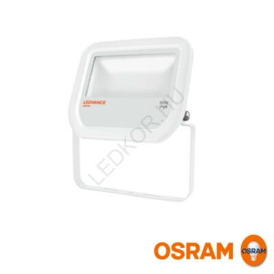 LED Reflektor OSRAM, 50W, 3000K - melegfehér, IP65, white