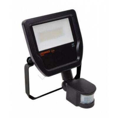 LED Reflektor sensor SORAM, 20W, 3000K - melegfehér, IP65, black