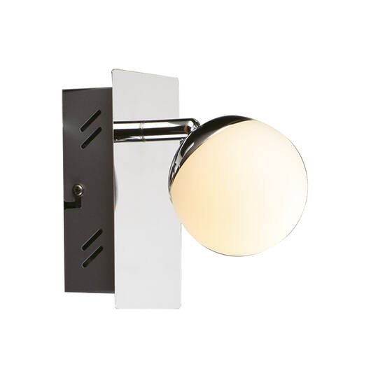 Neli króm LED fali lámpa
