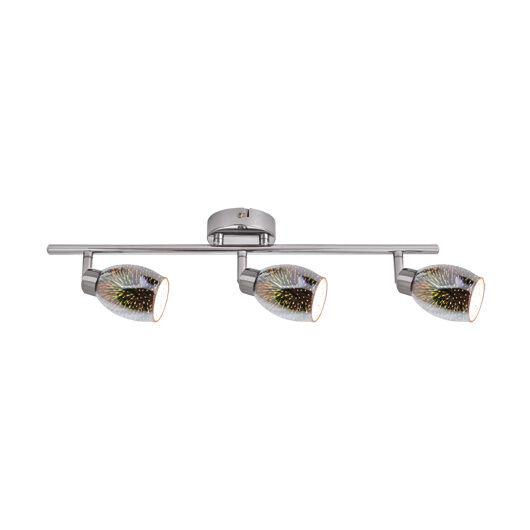 Etna LED fali lámpa króm 3xG9