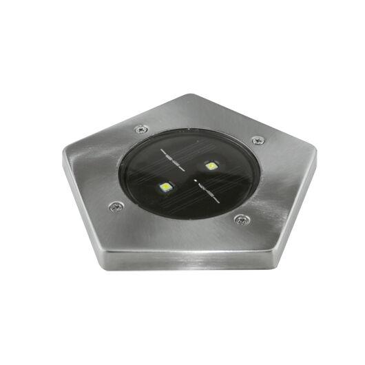 Garet Led szögletes, talajba szúrható napelemes lámpa