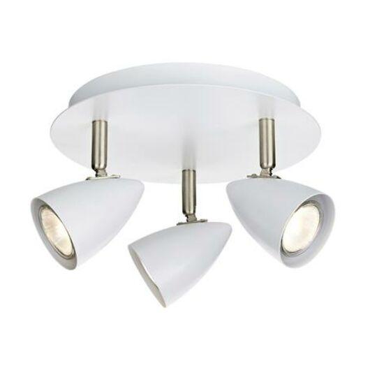 Markslöjd CIRO mennyezeti lámpa 3L fehér