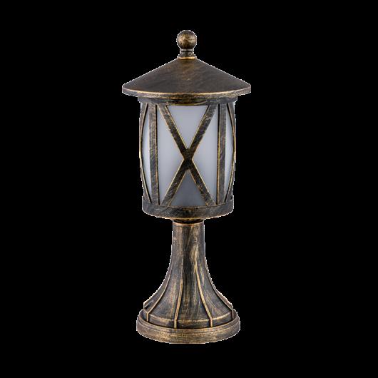 ERIK 104 kültéri állólámpa, antik sárgaréz, 1xE27
