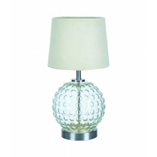 MARKSLÖJD BUBBLES asztali lámpa fehér/csiszolt acél/üveg E14 1x40W