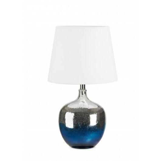MARKSLÖJD OCEAN asztali lámpa kék/fehér/króm E27 1x60W