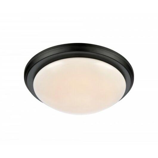 MARKSLÖJD ROTOR mennyezeti LED lámpa 35cm fekete/fehér 9W