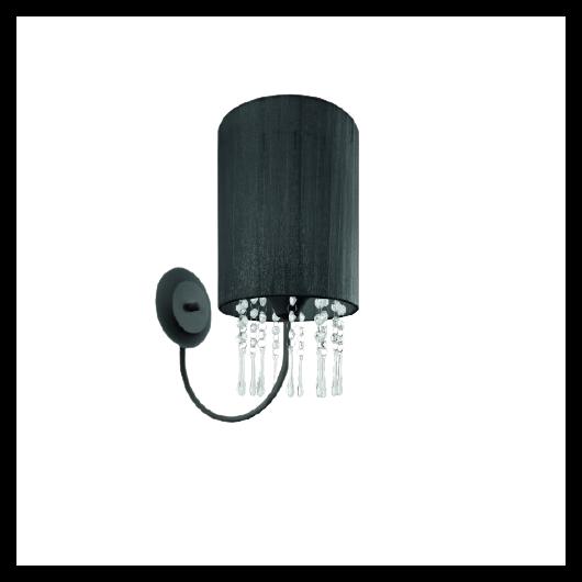 LAMPEX fali lámpa Wenecja fekete