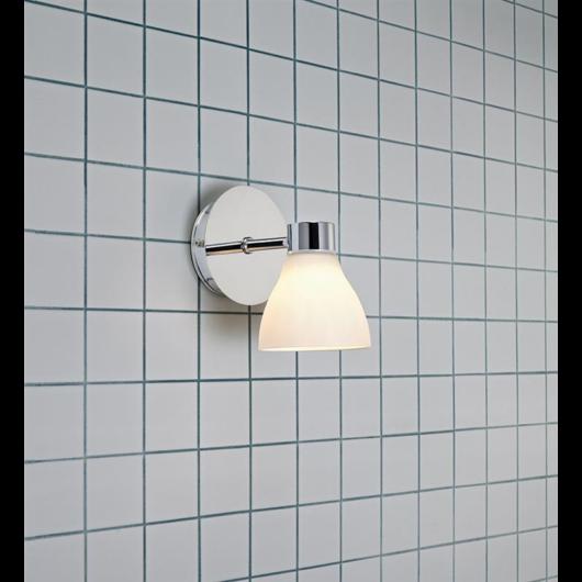 MARKSLÖJD Cassis Wall 1L króm/Opal