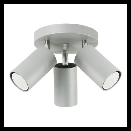 LAMPEX Mennyezeti lámpa Rolos 3A szürke