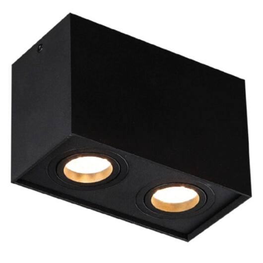 Basic Square II mennyezeti lámpa fekete