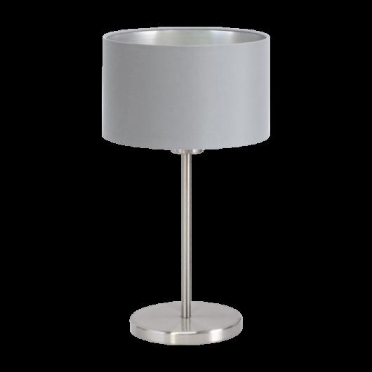 MASERLO textil asztali lámpa szürke 420