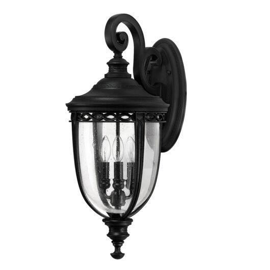 ELSTEAD English Bridle 3Lt (nagy méretű) fali lámpa fekete