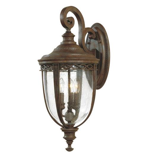 ELSTEAD English Bridle 3Lt (nagy méretű) fali lámpa sötétbronz