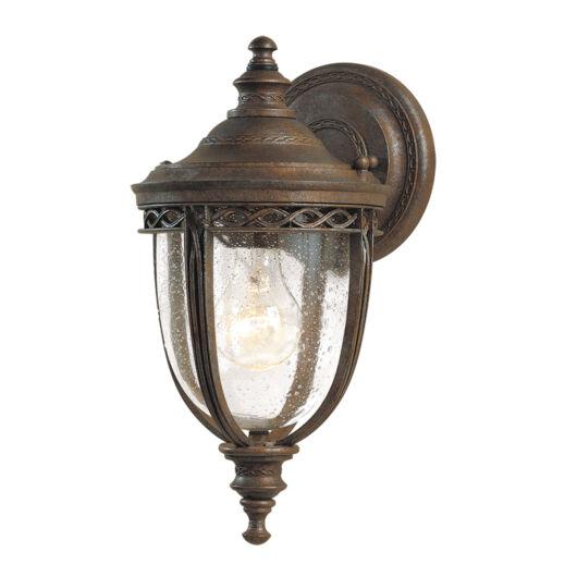 ELSTEAD English Bridle 1Lt (kis méretű) fali lámpa sötétbronz