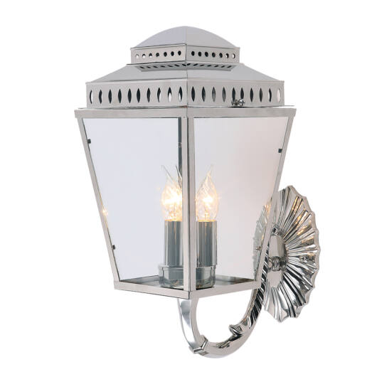 ELSTEAD Mansion House fali lámpa csiszolt nikkel
