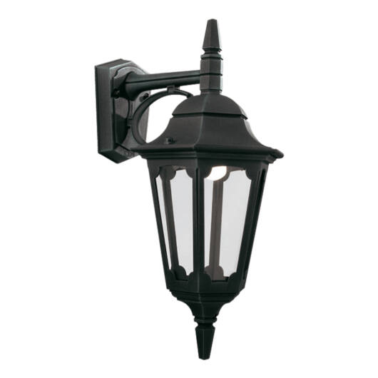 ELSTEAD Parish Down fali lámpa fekete
