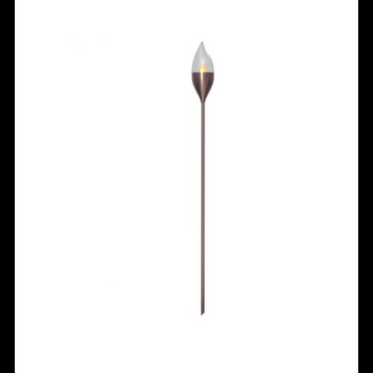 OLYMPOS szolár fáklya réz színben
