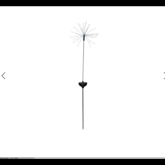 Tűzijáték  szolár lámpa 100cm