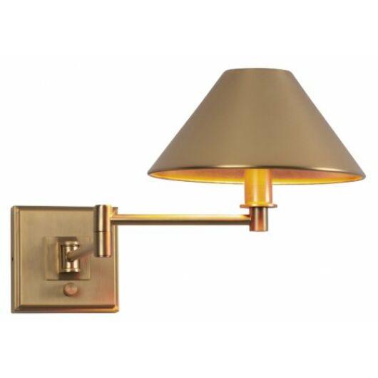 CRACOW fali lámpa bronz