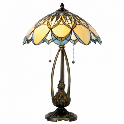 Filamentled Newbattle Tiffany asztali lámpa