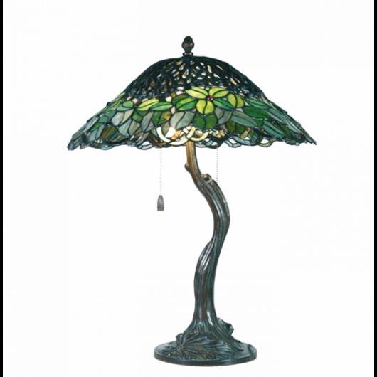 Filamentled Witham Tiffany asztali lámpa