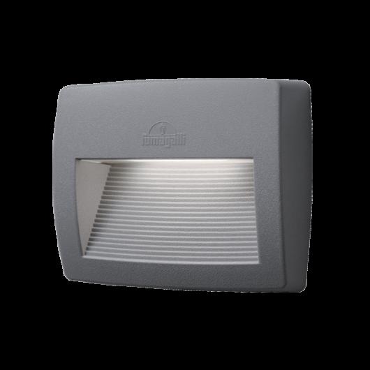 LORENZA 150 LED kültéri fali lámpa 7.5W szürke