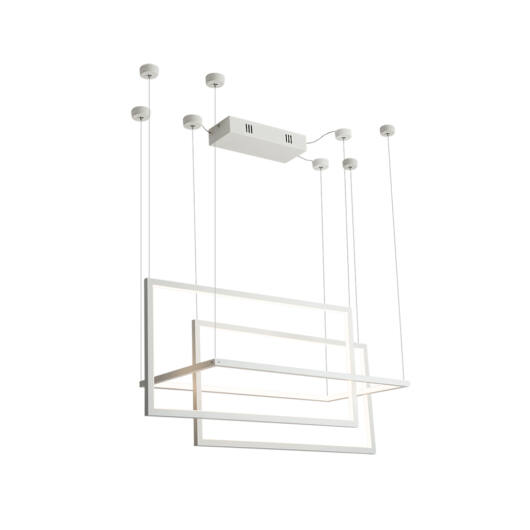 GEOMETRIC függeszték fehér LED 1800mm