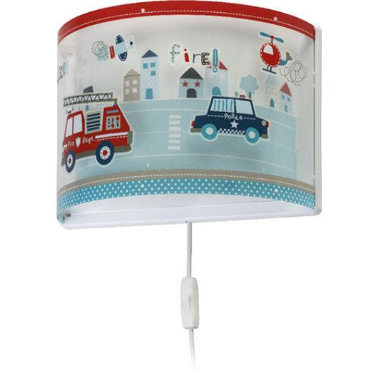 Dalber gyereklámpa - 'police' fali lámpa
