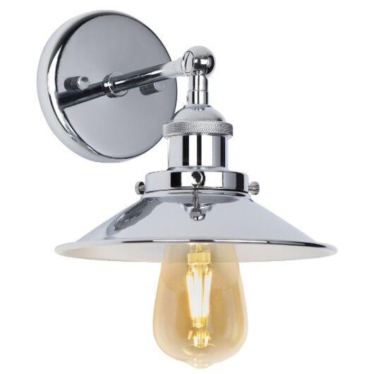 HAGA fali lámpa króm