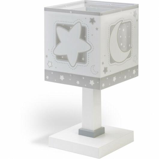 Dalber gyereklámpa - 'moonlight' szürke asztali lámpa