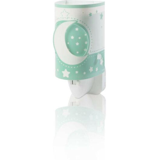 Dalber gyereklámpa - 'moonlight' zöld éjjeli lámpa