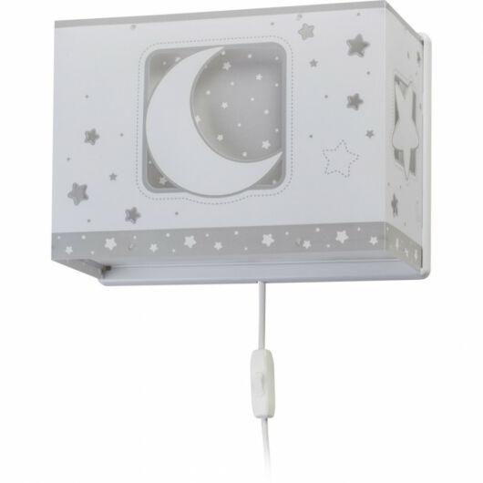 Dalber gyereklámpa - 'moonlight' szürke fali lámpa
