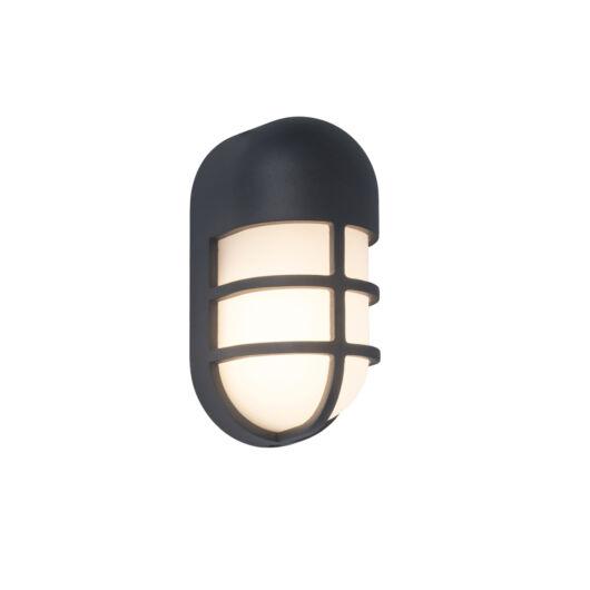 Lutec Bullo sötétszürke kültéri fali lámpa
