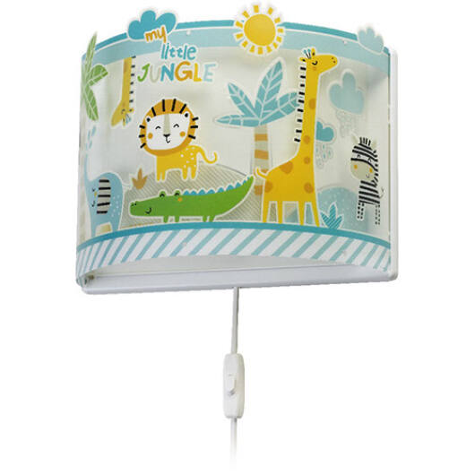 Dalber gyereklámpa - 'My Little Jungle' fali lámpa